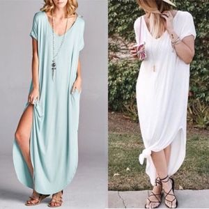 CHARLIZE solid boho dress - MINT